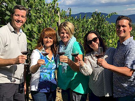 wine tour to Villa Poggio Torselli